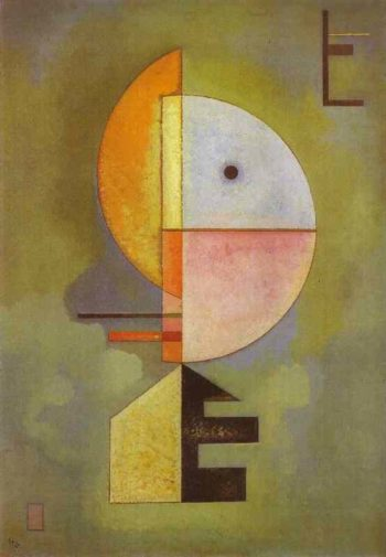 upward 1929 | Wassily Kandinsky | oil painting