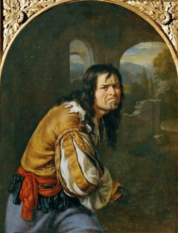 A Bully -Allegory of Anger | Willem van Mieris | oil painting