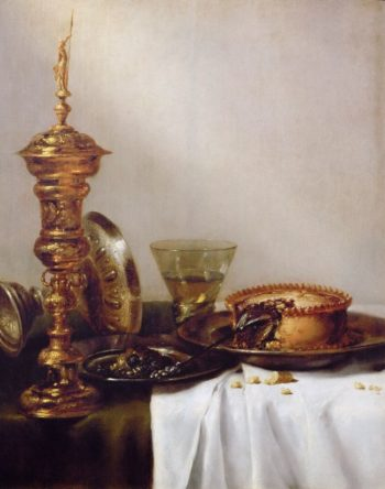 Still Life with Roemer and Silver Tazza | Willem Claesz Heda | oil painting