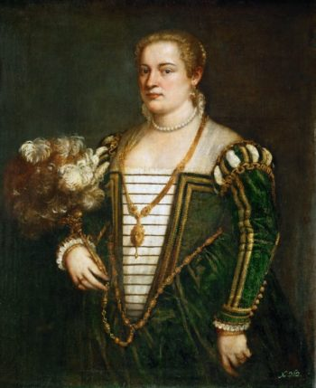 Lavinia daughter of Titian | Titian | oil painting