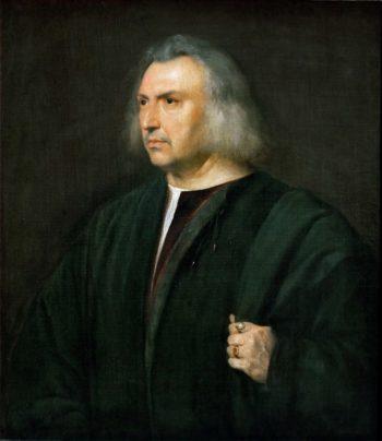 Gian Giacomo Bartolotti da Parma physician | Titian | oil painting