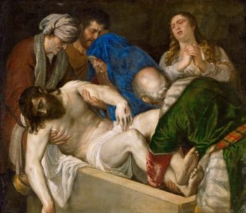 Entombment of Christ | Titian | oil painting
