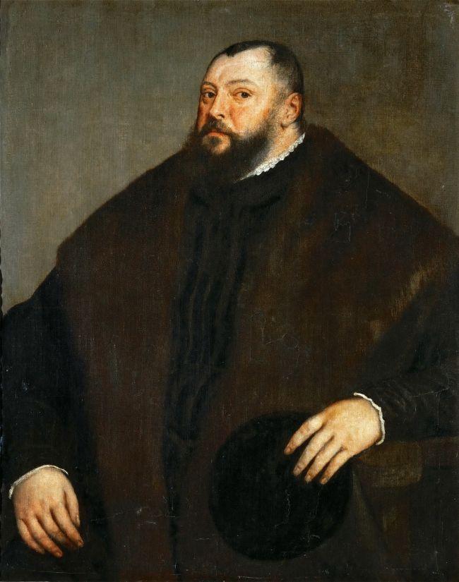 Elector Johann Friedrich of Saxony | Titian | oil painting