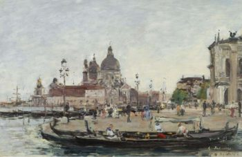 Venice the Salute 1895 | Eugene Boudin | oil painting