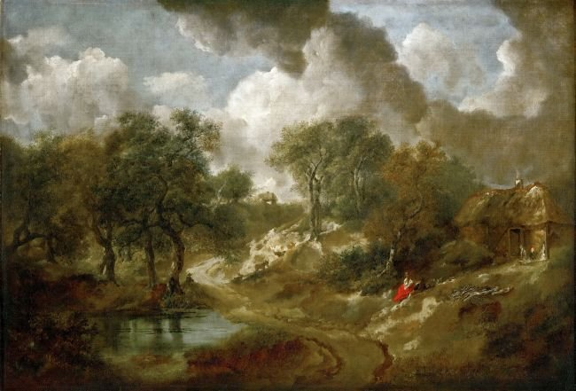 Landscape in Suffolk | Thomas Gainsborough | oil painting