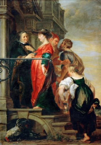 The Visitation | Theodor van Thulden | oil painting
