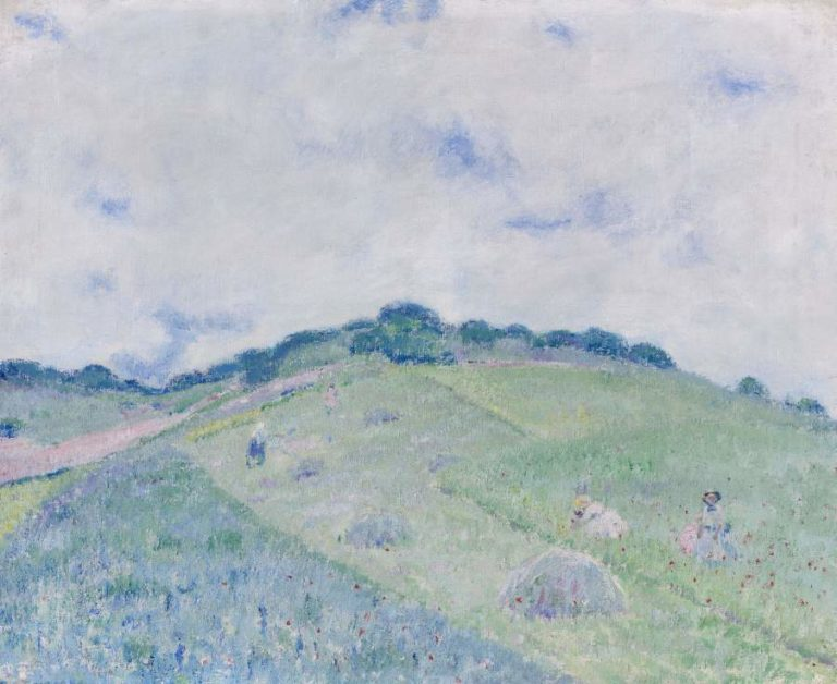 Hill at Giverny | Frederick Carl Frieseke | oil painting