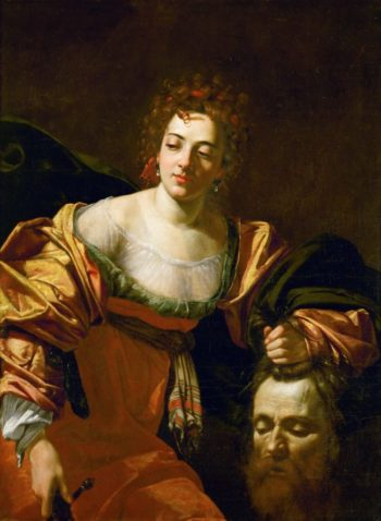 Judith with the head of Holofernes | Simon Vouet | oil painting