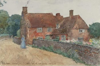 Broadstairs Cottage 1890 | Frederick Childe Hassam | oil painting