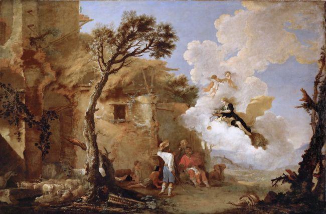 The Return of Astraea | Salvator Rosa | oil painting