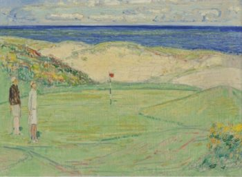 East Course Maidstone Club 1926 | Frederick Childe Hassam | oil painting