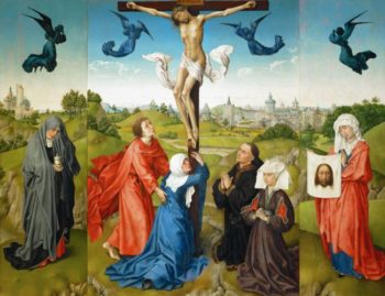 The Crucifixion | Rogier van der Weyden | oil painting