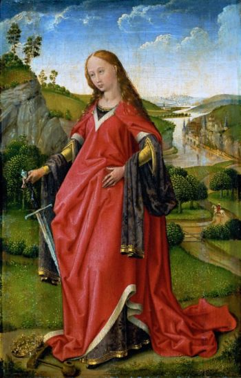 Saint Catherine of Alexandria | Rogier van der Weyden | oil painting