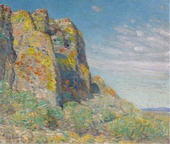 Harney Desert 1908 | Frederick Childe Hassam | oil painting