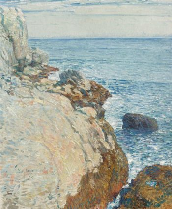 The East Headland Appledore | Frederick Childe Hassam | oil painting