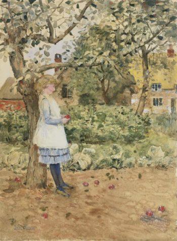 The Little Philosopher | Frederick Childe Hassam | oil painting