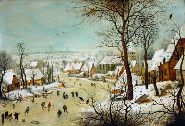 Winter Landscape | Pieter Brueghel II | oil painting