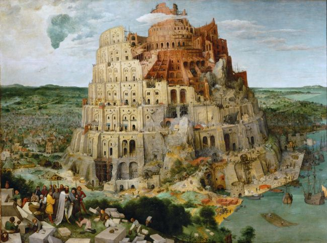 Tower of Babel | Pieter Bruegel | oil painting