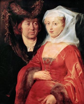Saint Bega and Her Husband Ansegius | Peter Paul Rubens | oil painting