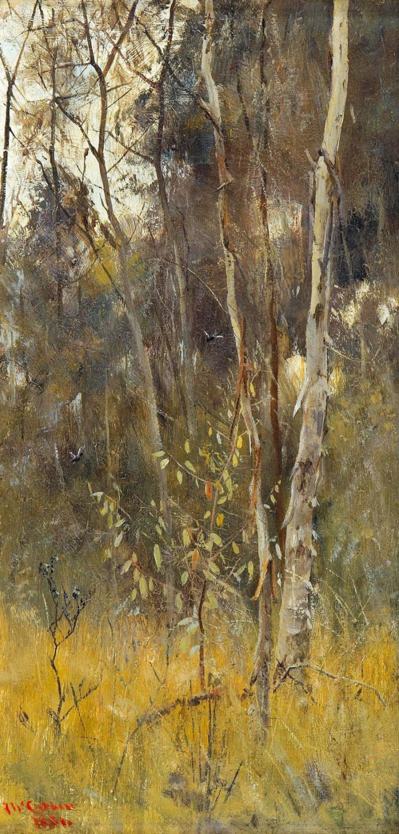 At the Falling of the Year 1886 | Frederick McCubbin | oil painting