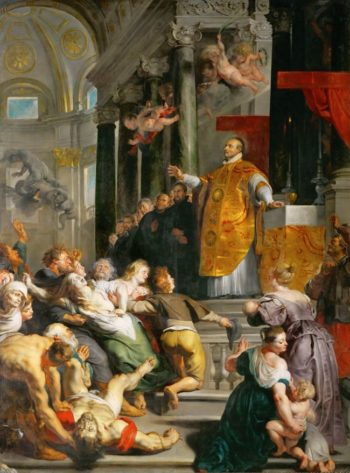 Miracle of Saint Ignatius Loyola | Peter Paul Rubens | oil painting