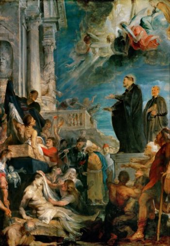 Miracle of Saint Francis Xavier | Peter Paul Rubens | oil painting