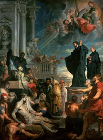Miracle of Saint Francis Xavier 2 | Peter Paul Rubens | oil painting