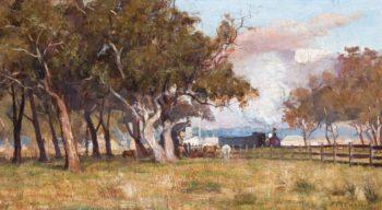 The Morning Train 1887 | Frederick McCubin | oil painting