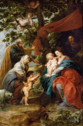 Holy Family Resting Under an Apple Tree | Peter Paul Rubens | oil painting