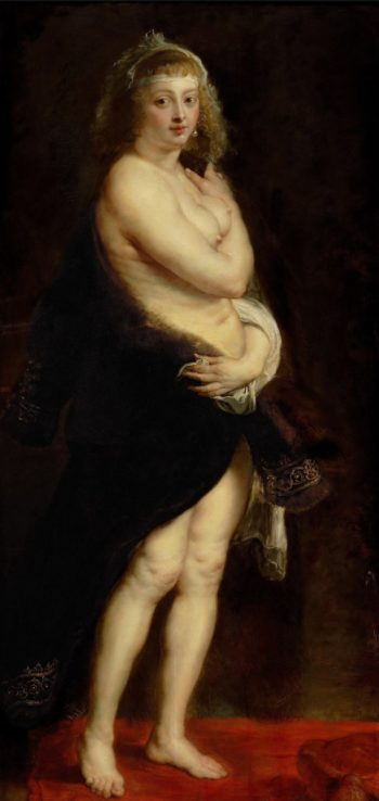 Helene Fourment in a Fur Coat -The Furlet | Peter Paul Rubens | oil painting