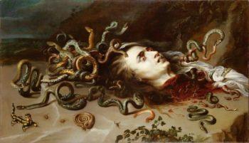 Head of Medusa | Peter Paul Rubens | oil painting