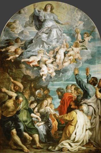 Assumption of Saint Mary | Peter Paul Rubens | oil painting