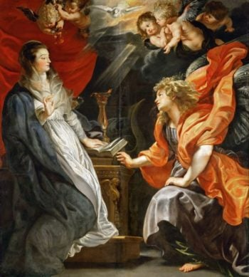 Annunciation | Peter Paul Rubens | oil painting