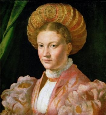 Portrait of a young woman | Parmigianino | oil painting