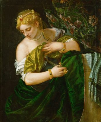 Lucretia | Paolo Veronese | oil painting