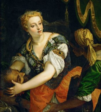 Judith with the Head of Holofernes | Paolo Veronese | oil painting