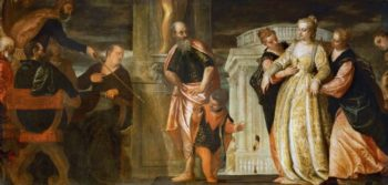 Esther before Ahasuerus | Paolo Veronese | oil painting