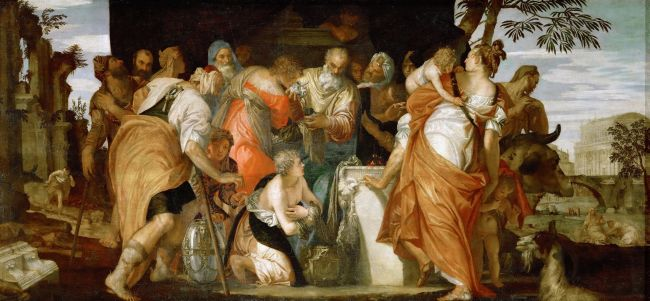 Anointing of David | Paolo Veronese | oil painting