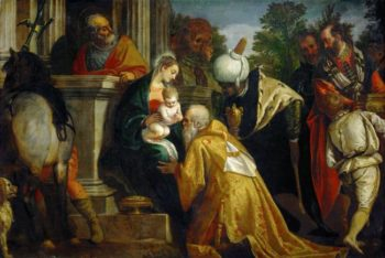 Adoration of the Magi | Paolo Veronese | oil painting