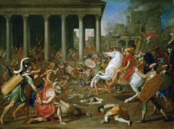 Destruction of the Temple of Jerusalem | Nicolas Poussin | oil painting