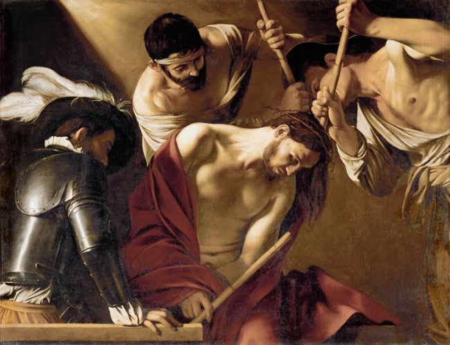 The Crowning with Thorns | Michelangelo Merisi da Caravaggio | oil painting