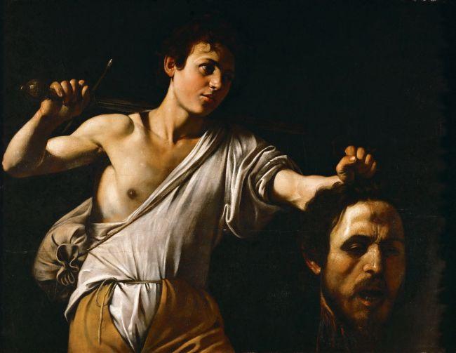 David with the Head of Goliath | Michelangelo Merisi da Caravaggio | oil painting