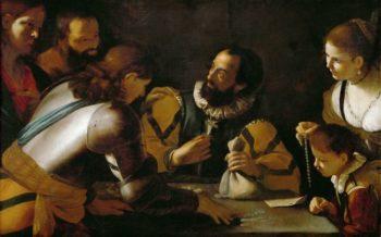 Calling of Matthew | Mattia Preti | oil painting