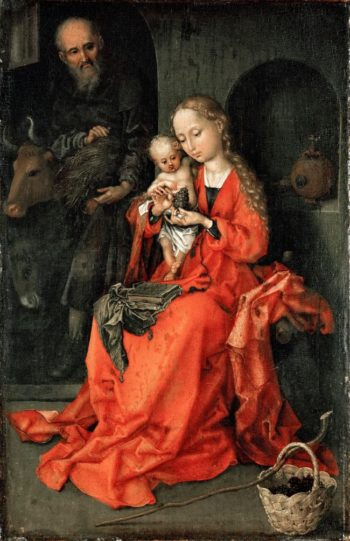Holy Family | Martin Schongauer | oil painting