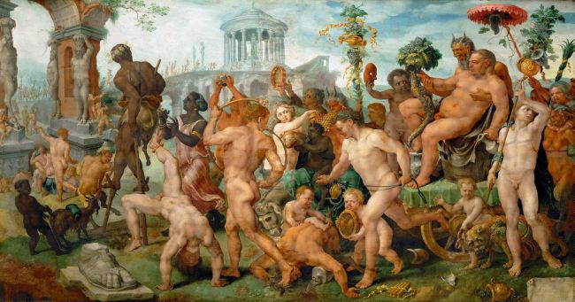 The Triumphal Procession of Bacchus | Maerten van Heemskerck | oil painting