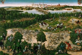 The Stag hunt of Elector Johann Friedrich | Lucas Cranach the younger | oil painting