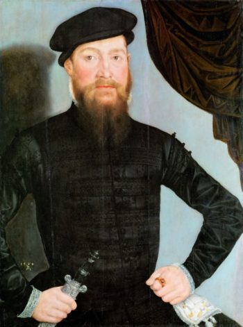 Portrait of a Man | Lucas Cranach the younger | oil painting