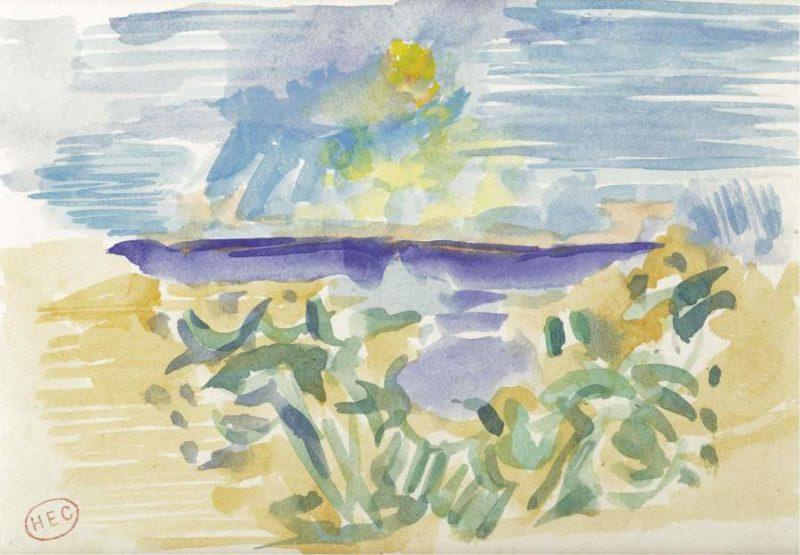 At the Seashore | Henri Edmond Cross | oil painting