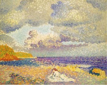Before the Storm (The Bather) 1907 08 | Henri Edmond Cross | oil painting