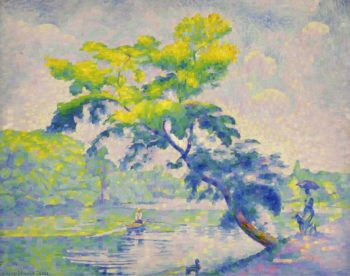 Benting Tree 1905 | Henri Edmond Cross | oil painting